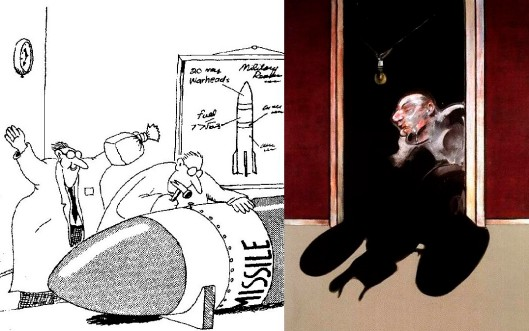 The Visual Arts - Gary Larson and Francis Bacon